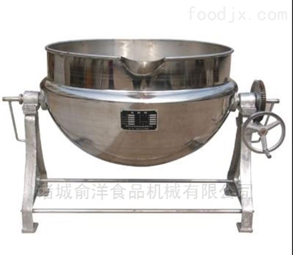 俞洋供应八宝粥加工夹层锅