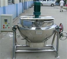 500L卤肉蒸汽夹层锅