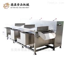 食堂果蔬清洗秒速赛车全自动三槽洗菜机
