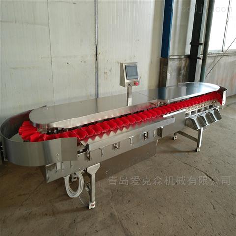 小龙虾分选机 龙虾重量选别机 自动分级机
