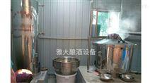 开个酒厂需要哪些小型酒厂酿酒设备