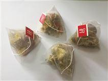 玫瑰花茉莉绿茶三角袋组合茶包包装机