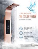 汉逊集成淋浴屏即热式电热水器