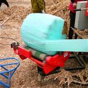 牧草青储打捆裹膜机 全自动青贮包膜机