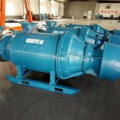 500QZ斜拉式安装轴流泵