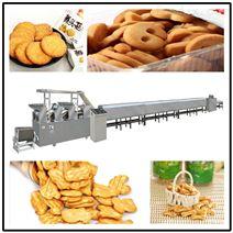 九江饼干糕点零食薄脆饼干鸡汤小饼生产线