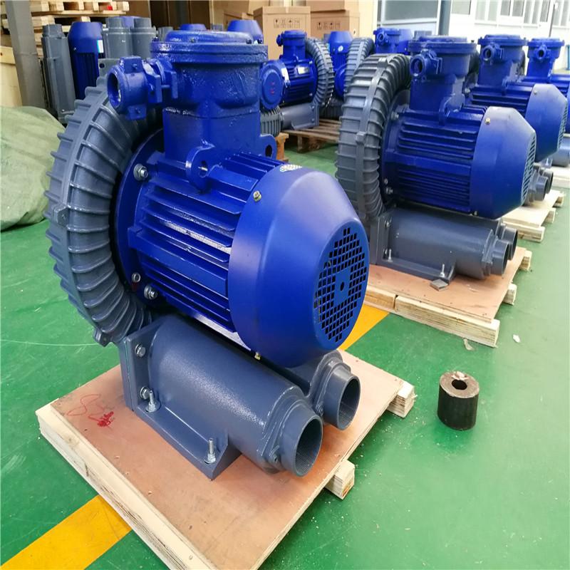 防爆风机采用防爆电机zui新成果,配套风机在启动时电流过大而导致风机