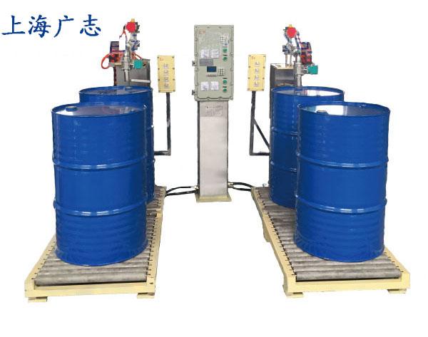 双工位液面下桶装自动灌装机