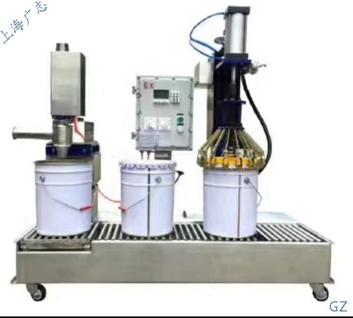 树脂液体自动化灌装机