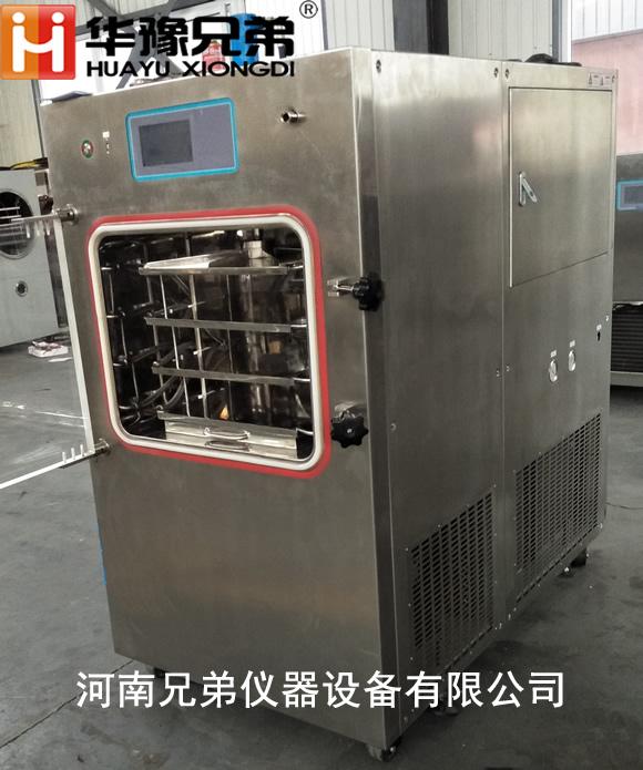 一平方自动压盖蛋白冷冻干燥机